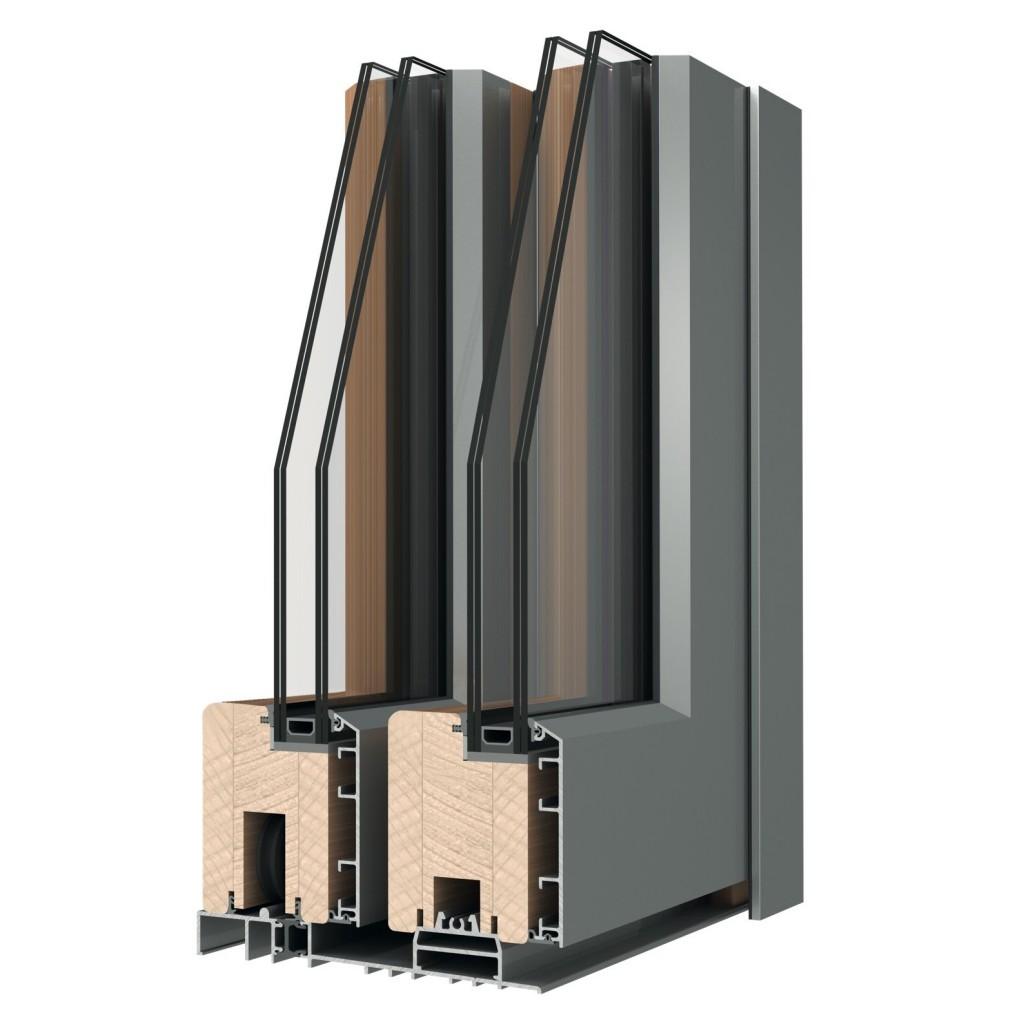 Legno alluminio l h italia for Uniform alluminio