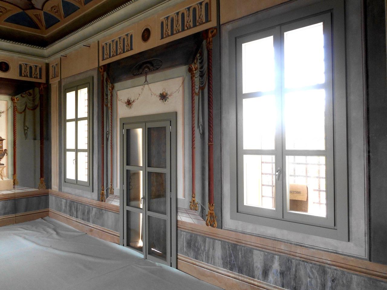 Villa Velo – Stanza degli sposi